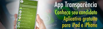 App Transparência - Conheça seu candidato - Aplicativo gratuito para iPad e iPhone
