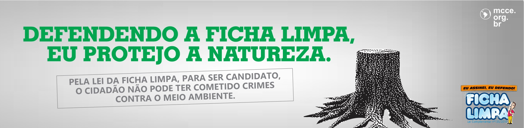 Ficha Limpa – Natureza